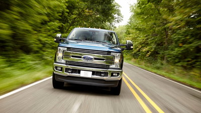 Ford Super Duty Limited Is Equal Parts Luxury Land Yacht