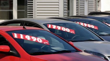 car price stickers
