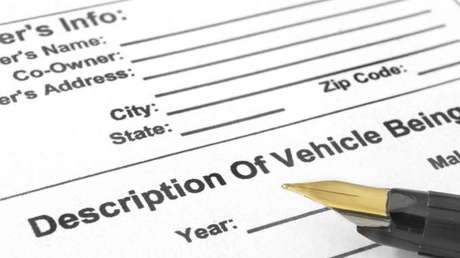 Paperwork To Sell A Car