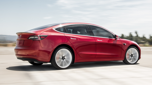 How much is a tesla suv lease