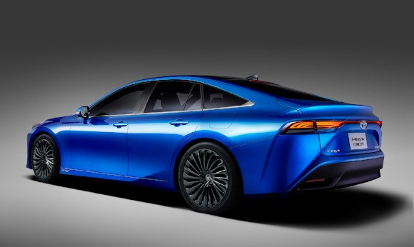 2021 toyota mirai going upscale with total redesign