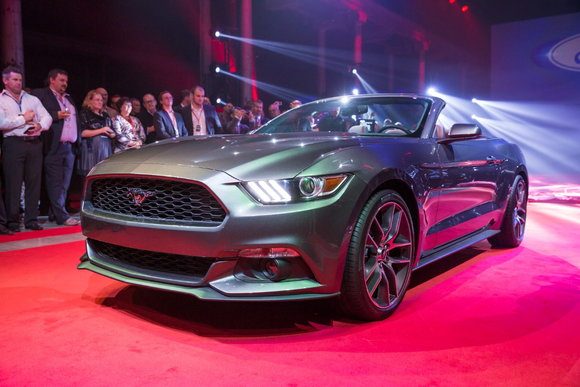 Ford Mustang Reveal