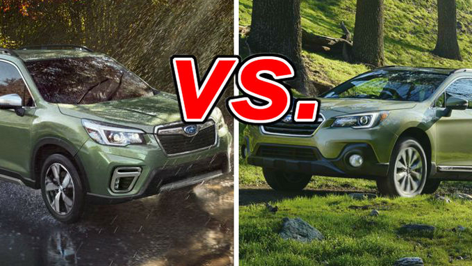 Outback Vs Forester >> Subaru Forester Vs Subaru Outback Carsdirect