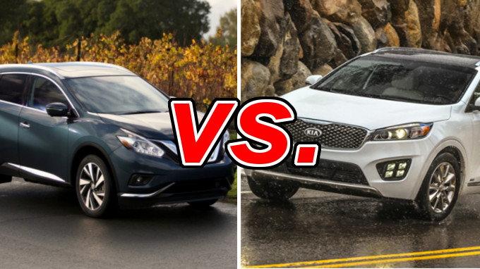 Nissan Murano vs Kia Sorento  CarsDirect