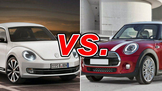 Volkswagen Beetle Vs Mini Hardtop