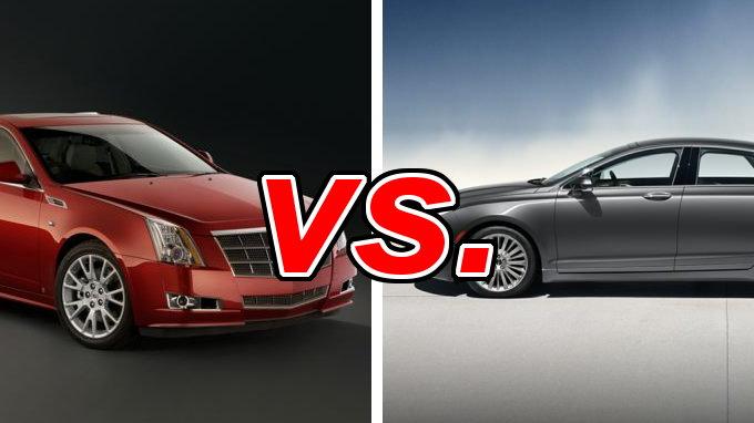 Cadillac CTS vs. Lincoln MKZ - CarsDirect