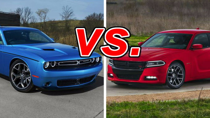 Charger Vs Challenger >> Dodge Charger Vs Dodge Challenger Carsdirect