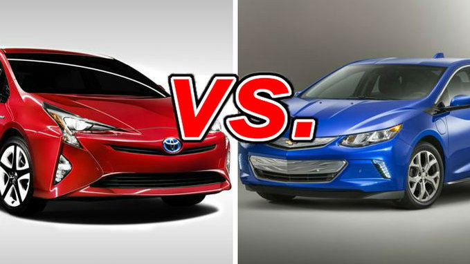 Toyota Prius Vs Chevrolet Volt Carsdirect