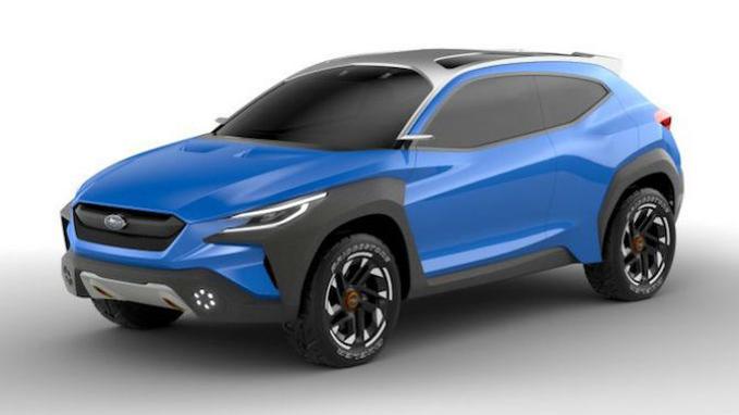 Subaru Future Design Previewed With Viziv Adrenaline Concept