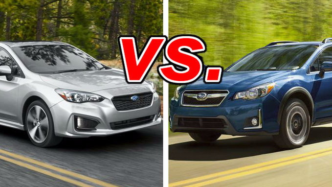 Subaru Impreza Vs Crosstrek Carsdirect