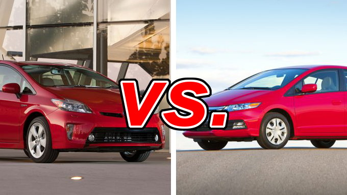 Toyota Prius Vs Honda Insight Carsdirect