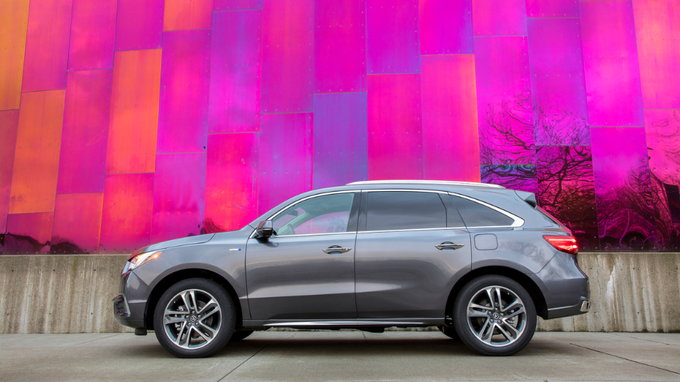 2018 Acura Mdx Sport Hybrid Rings Up At 53 095 Carsdirect