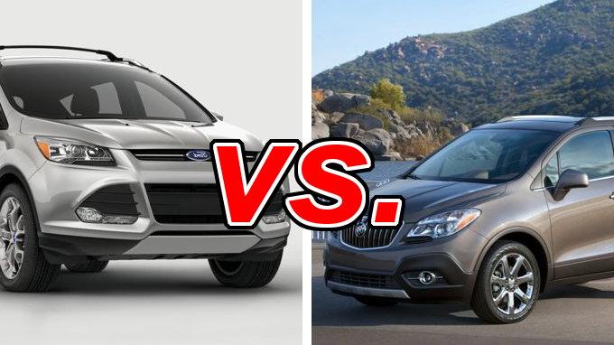 Ford Escape vs Buick Encore  CarsDirect