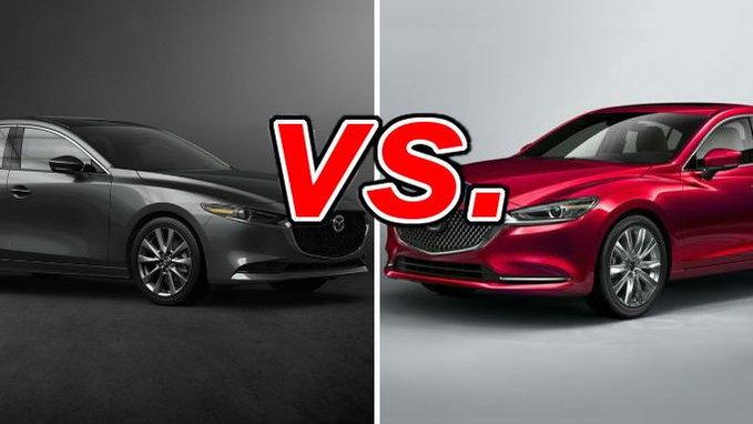 Mazda3 Vs Mazda6 >> Mazda Mazda3 Vs Mazda Mazda6 Carsdirect