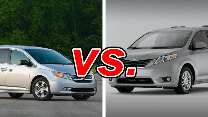 Honda Odyssey Vs Toyota Sienna Carsdirect