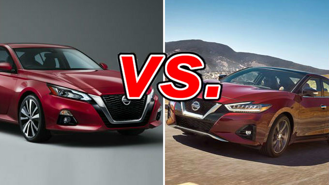 Altima Vs Maxima >> Nissan Altima Vs Nissan Maxima Carsdirect