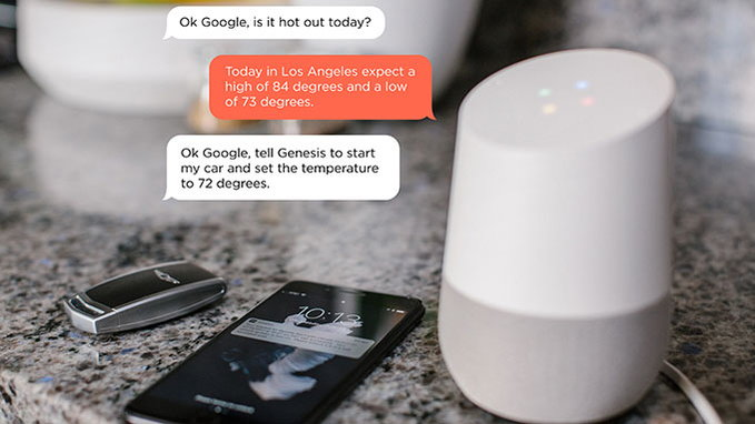Google Home Can Now Lock, Unlock, And Start Your Genesis