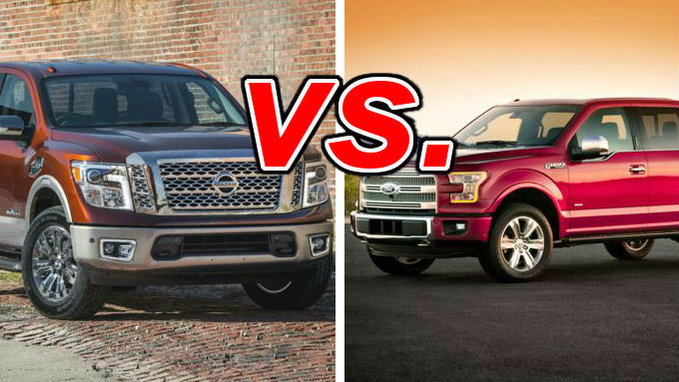 Nissan Titan vs  Ford F-150 - CarsDirect