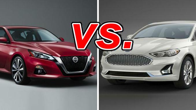 Nissan Altima Gas Mileage >> Nissan Altima Vs Ford Fusion Carsdirect