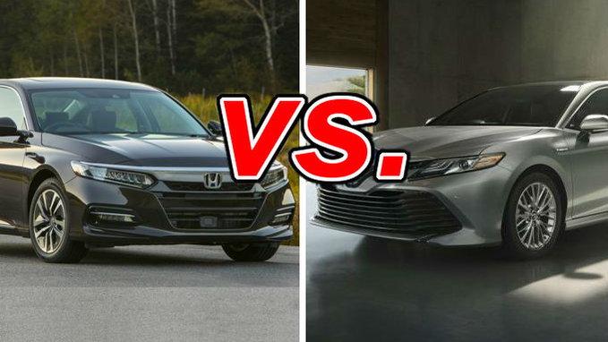Honda Accord Hybrid Vs Toyota Camry