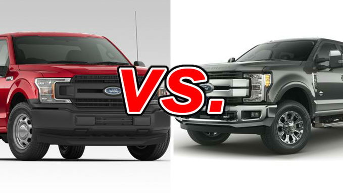Ford F250 Diesel Mpg >> Ford F 150 Vs Ford F 250 Carsdirect