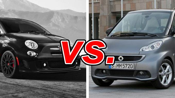 Smart car vs fiat 500