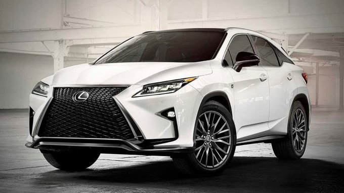 New 2016 Lexus Rx 350 Gets First Lease Deal