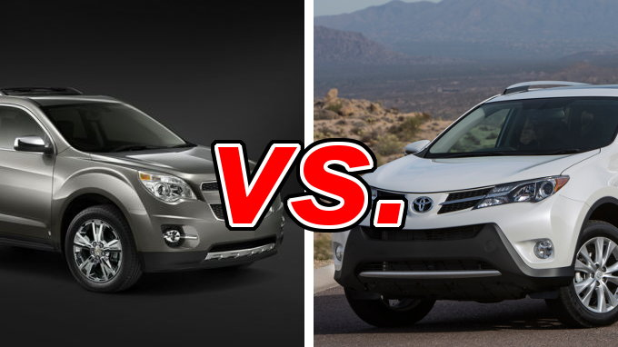 Chevrolet Equinox vs Toyota RAV4  CarsDirect