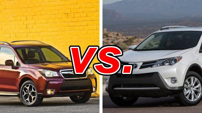 Subaru Forester vs Toyota RAV4  CarsDirect