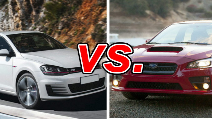 Volkswagen Gti Vs Subaru Wrx Carsdirect