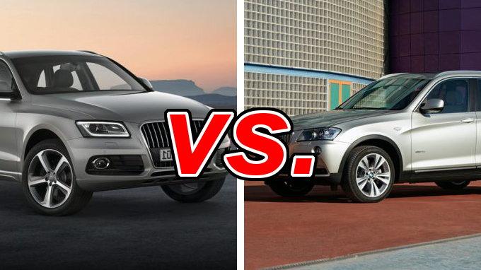 Audi Q5 vs BMW X3  CarsDirect