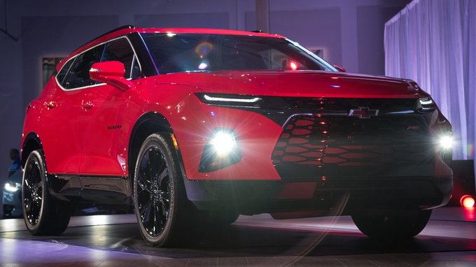 2019 Chevrolet Blazer Preview Pricing Release Date
