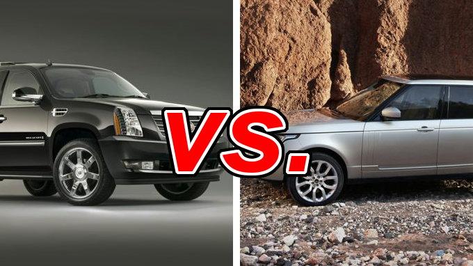 Cadillac Escalade Vs Range Rover Carsdirect