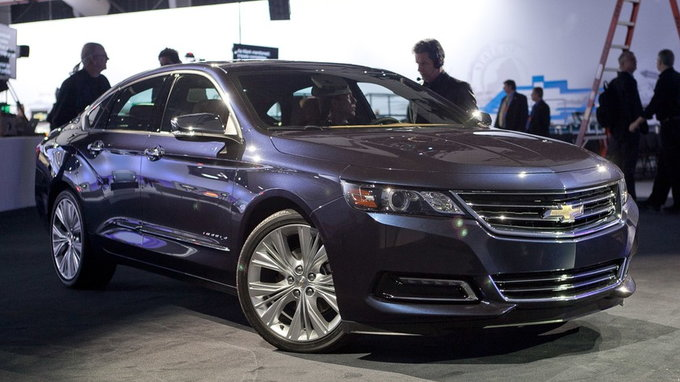 Used 2014 Chevy Impala >> 2019 Chevrolet Impala: Preview & Release Date