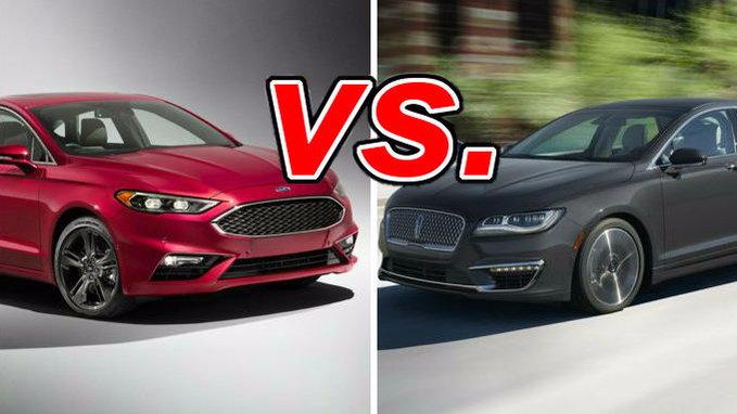 Ford Fusion Vs Lincoln Mkz Carsdirect
