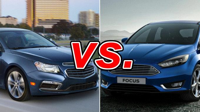 Chevrolet Cruze vs Ford Focus  CarsDirect