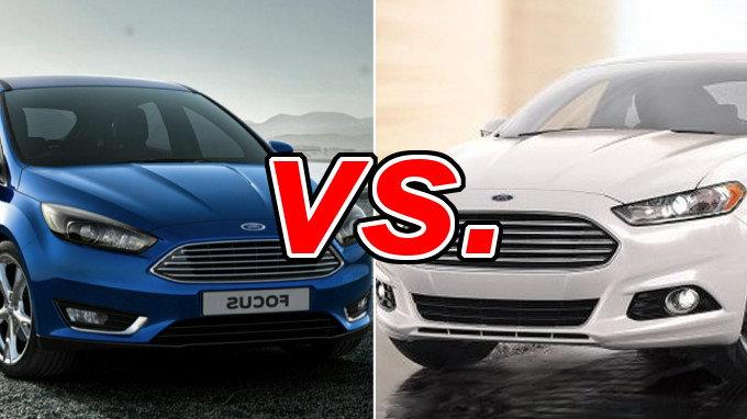 Ford Focus Vs Fusion