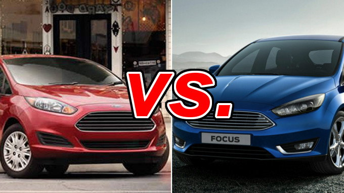 Ford Fiesta Vs Ford Focus Carsdirect
