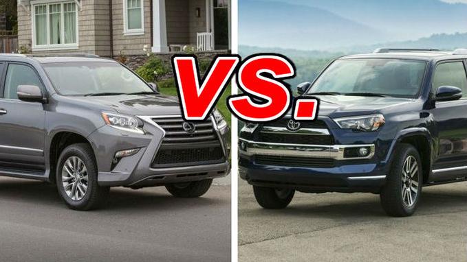 Lexus GX vs  Toyota 4Runner - CarsDirect