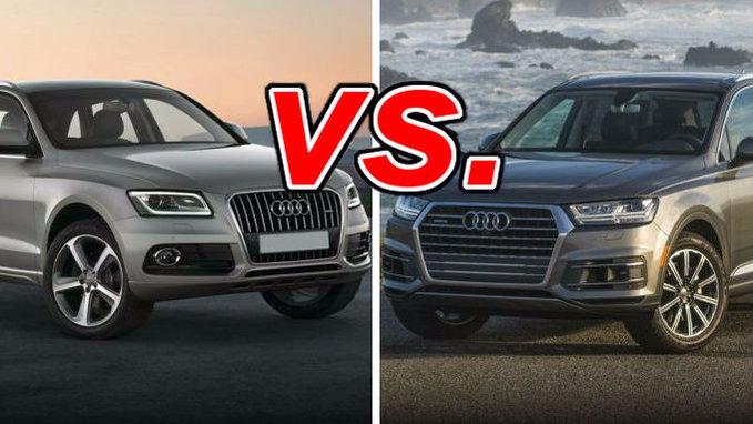Audi Q5 vs. Audi Q7 - CarsDirect
