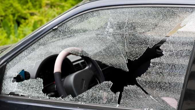 Image result for broken car window