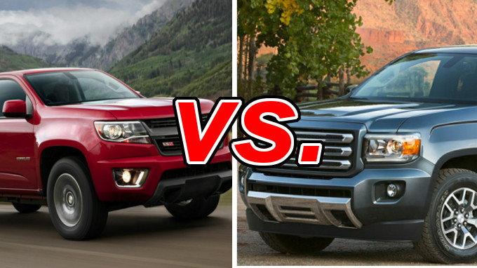 Chevrolet Colorado Vs Gmc Canyon Carsdirect