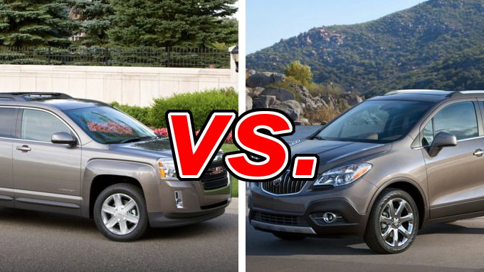 GMC Terrain vs Buick Encore  CarsDirect