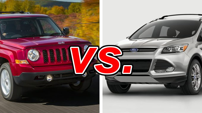 Jeep Patriot vs Ford Escape  CarsDirect