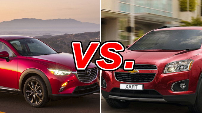 Mazda Cx 3 Vs Chevrolet Trax Carsdirect
