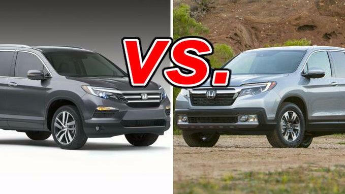 Honda Pilot vs. Honda Ridgeline - CarsDirect