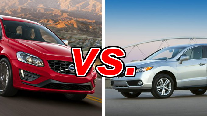 Worksheet. Volvo XC60 vs Acura RDX  CarsDirect