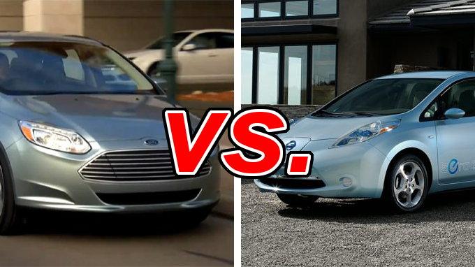 Ford Focus Electric Vs Nissan Leaf