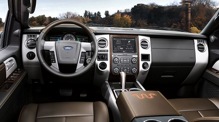 2015 Ford Expedition EL Interior