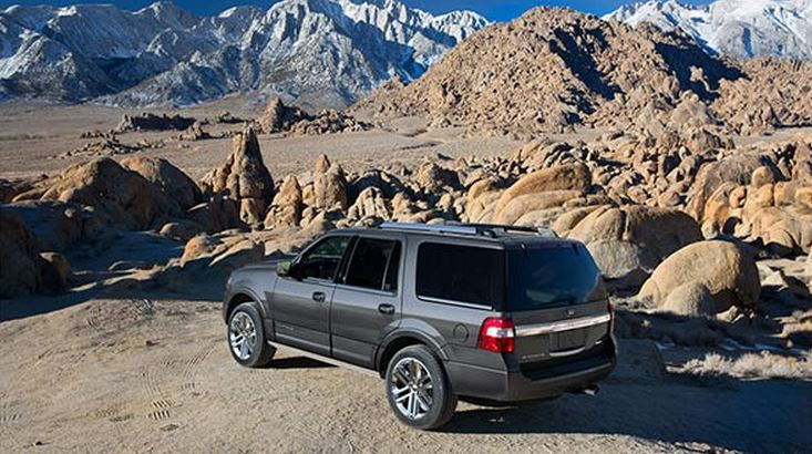 2015 Ford Expedition EL Rear